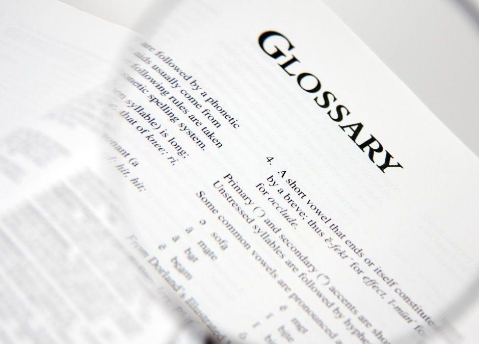 Le glossaire ultime : 44 termes de marketing par e-mail que l'on doit connaître